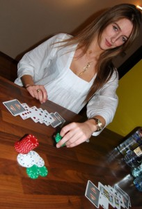 Playing Razz Poker